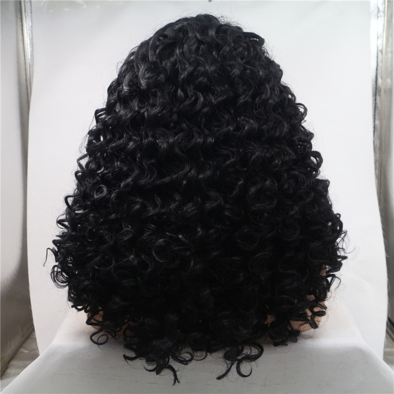 180 Density Wig 13x6 Lace Frontal Wig for Black Woman Wet Wavy WK194