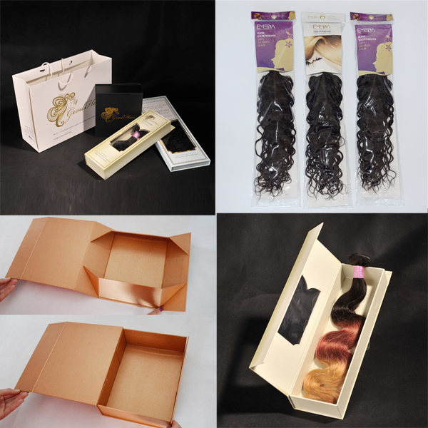 Customized hair packaging boxes  LJ40