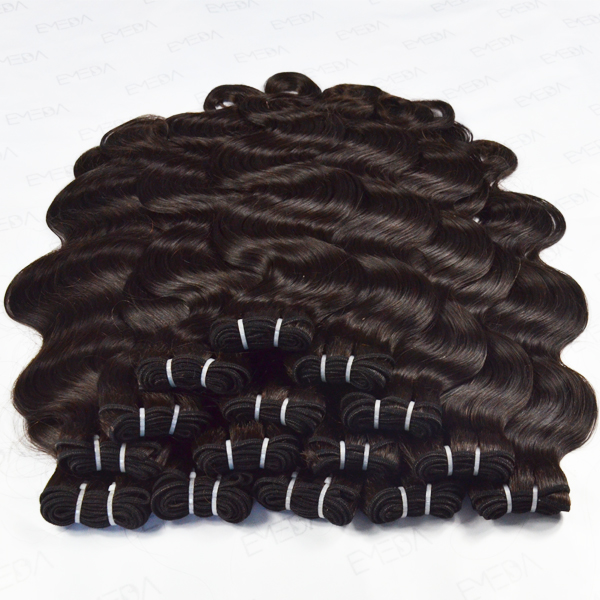 Raw cambodian hair extension bundles hair,virgin human hair from very young girls HN179