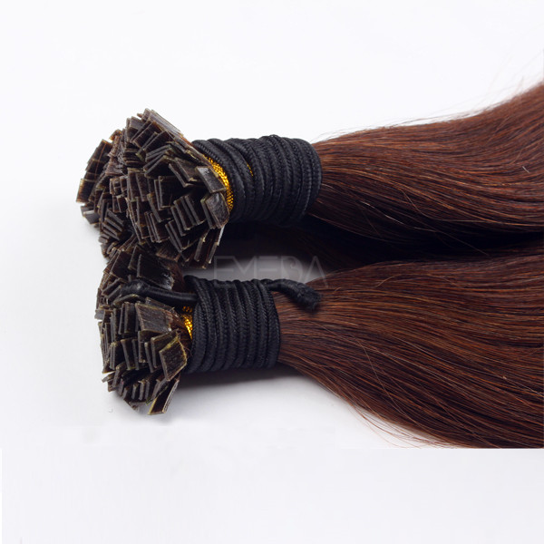 Flat Tip Hair Extensions Manufactures Human Hair 24 Inch Fusion Extensions Factory LM281