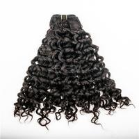 Double drawn grade for black women hair extension human hair YJ 63