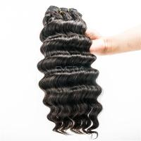 Grade 7A deep wave Indian human hair extensions YJ48