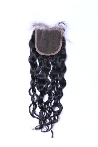 4x4 Closure Middle Brown Lace Free Part WK022
