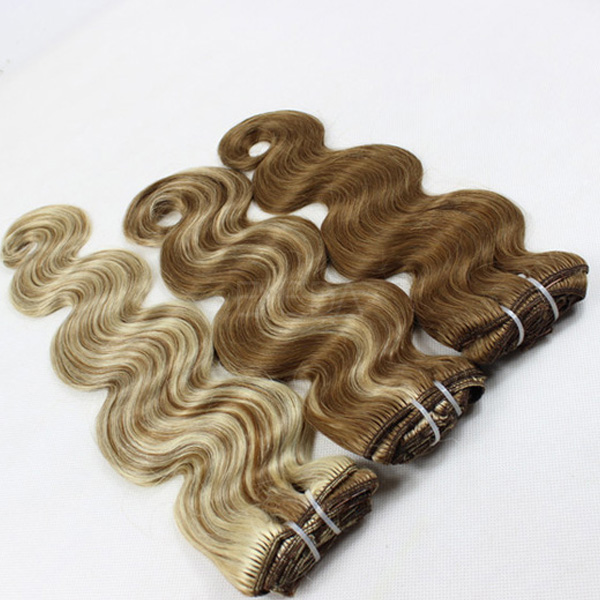 Different Types Of Clip In Hair Extensions Lp124 Emeda Hair