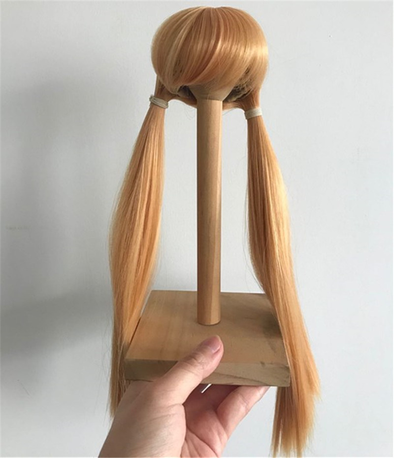Cute Doll Wigs Supplier High Temperature Synthetic Hair Sold to All over the World WK169