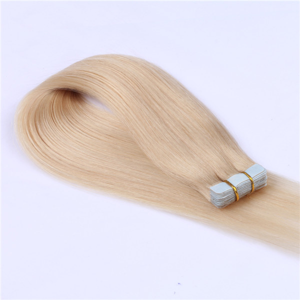 Wholesale Tape In Hair Extensions Factory Double Drawn Tangle Free Thick End Hair Extensions  LM448