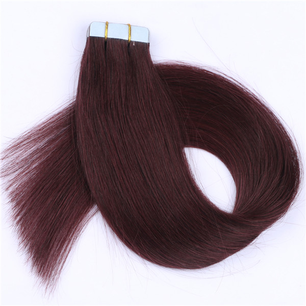 Tape hair extensions 100% Remy Human Hair Extensions XS114