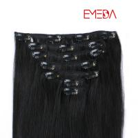 Buy clips in indian remy human hair wefts extension places SJ00133