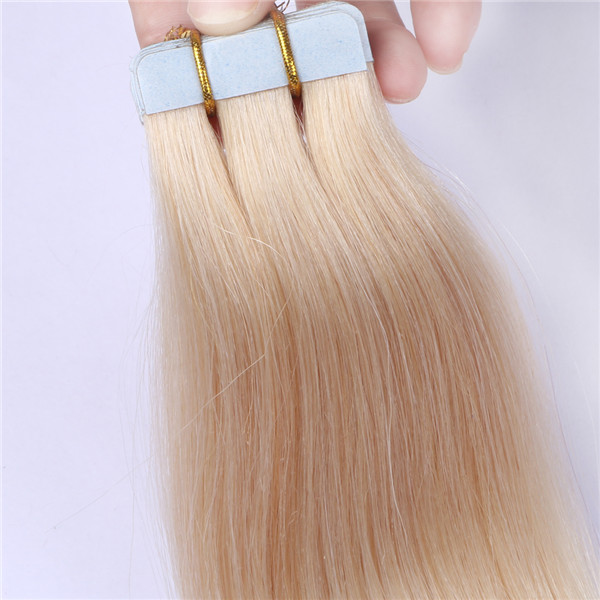 Russian tape hair extensions blonde hair XS107