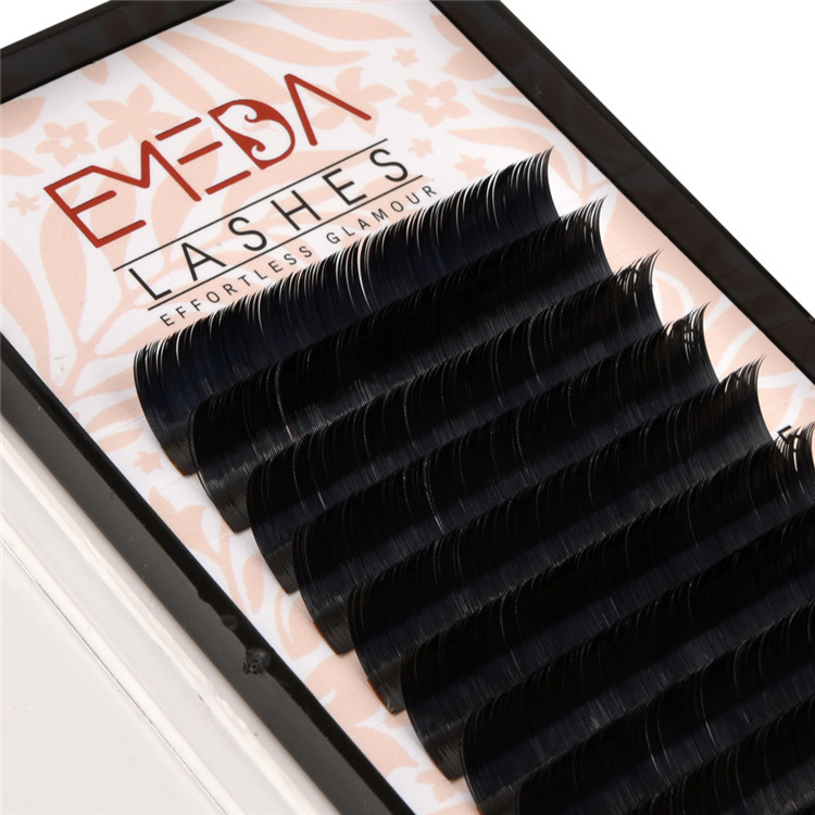 Ellipse Lash Extensions Supplier Wholesale Flat Lashes PY12