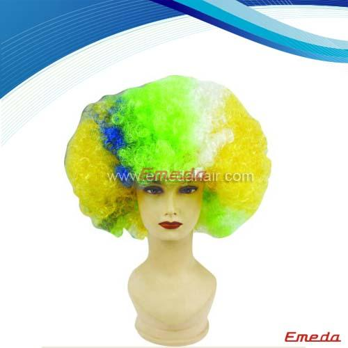 2014 World Cup Football Wigs