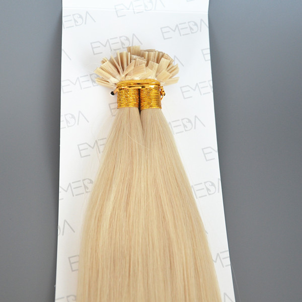 Natural blonde human hair extensions in US LP151
