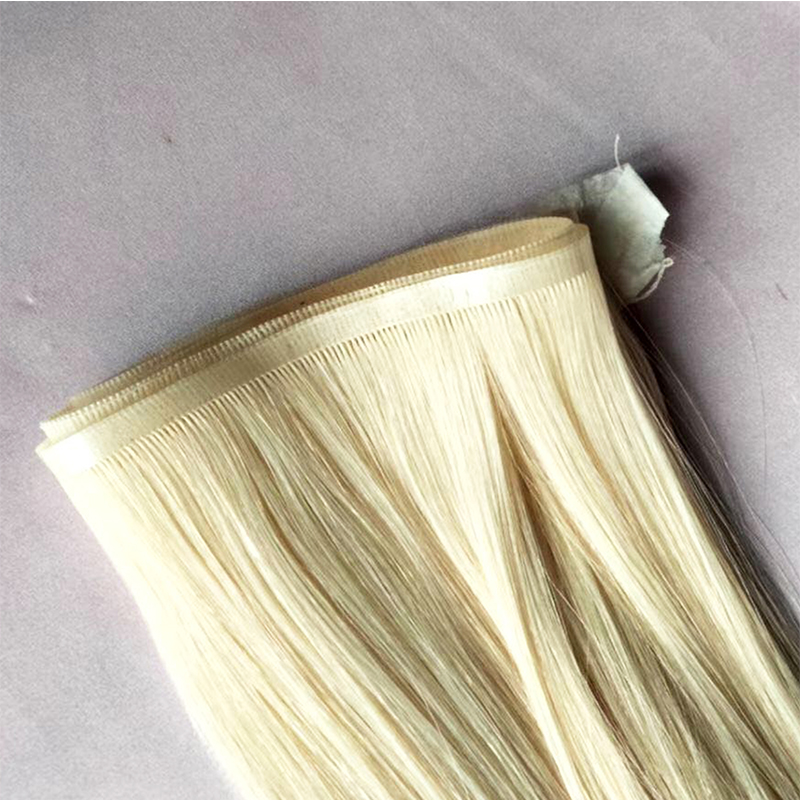 Invisible hair extensions  flat weft  Human Hair Extensions YL463