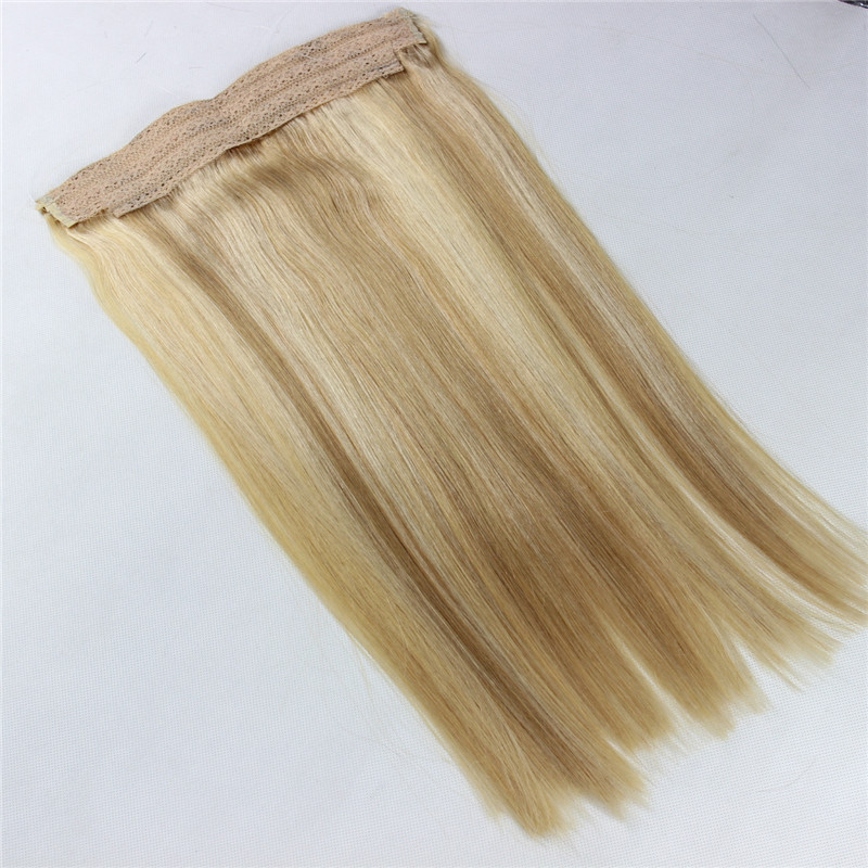 Flip in Hair Extension Human Hair Halo Hair Most Popular WK039