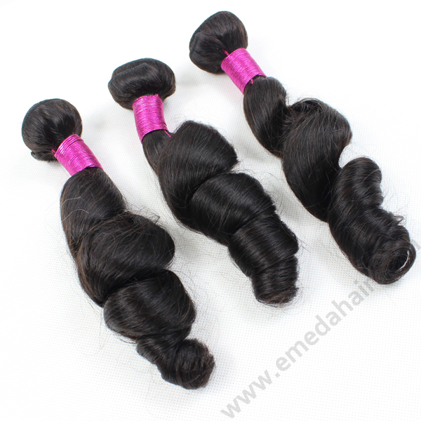 Colored Brazilian hair weave extensions LJ104