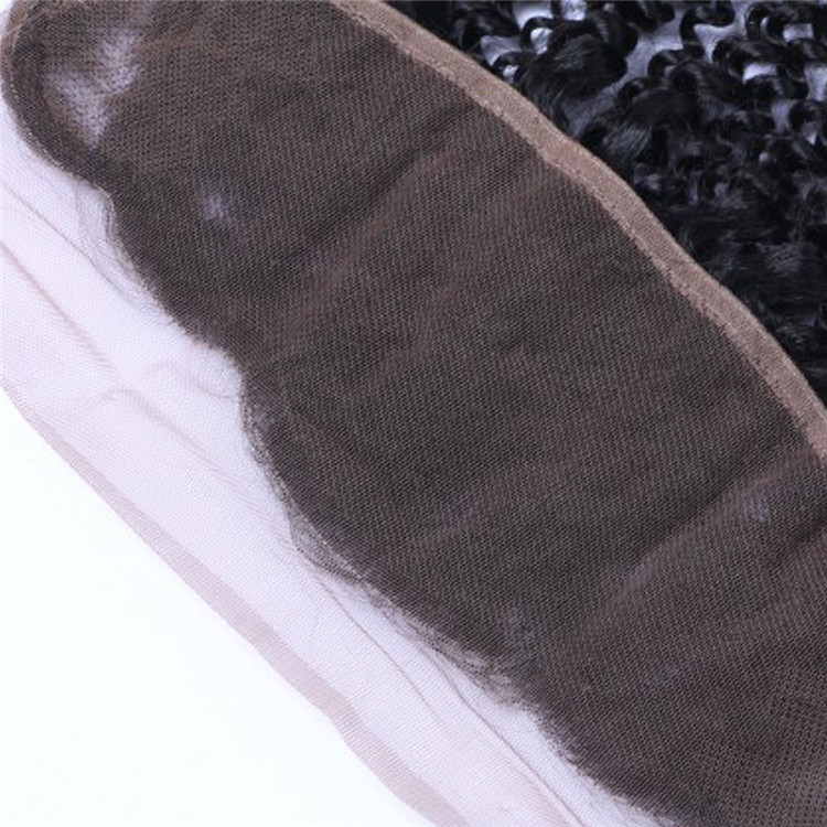 Raw virgin human hair pre plucked lace frontals 13x4 inch YL146
