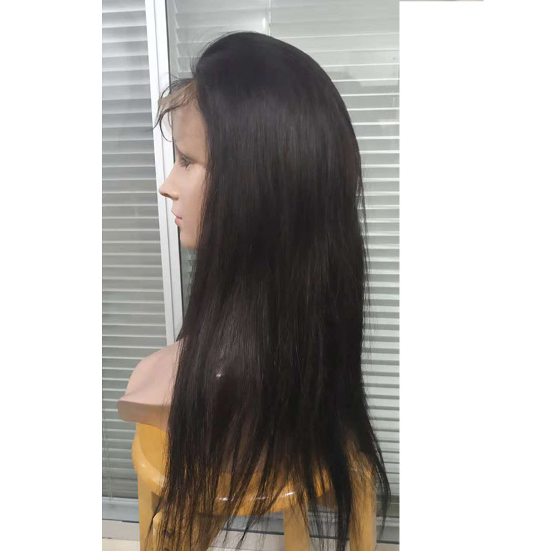 Wig 130% density  full lace wig human hair   with baby hair pre plucked YL305