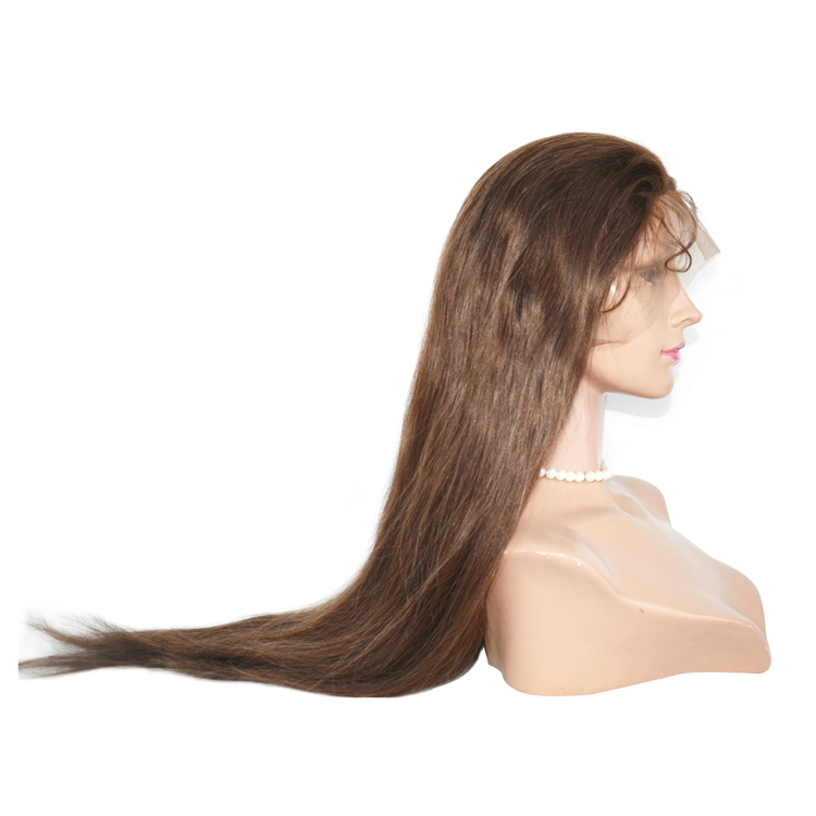 Malaysian Human Virgin Hair Factory Manufacture Full Lace Wig    LM068