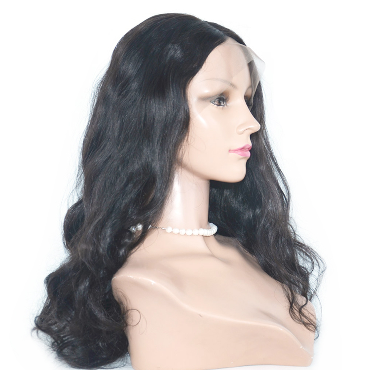 Brazilian Human Hair Virgin High Quality Customizd Full Lace Wig      LM062