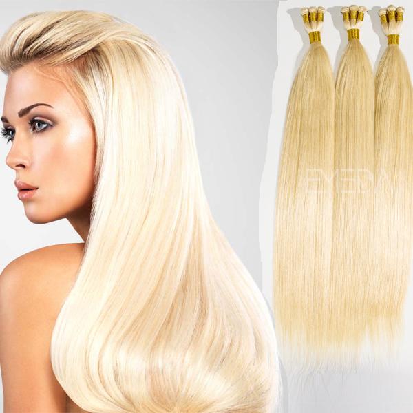 Grade 8a Hand Tied Bleach Blonde Hair Extensions Yj80 Emeda Hair