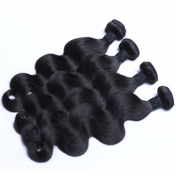 Cheap different types of unprocessed virgin body wave hair extensions WJ039