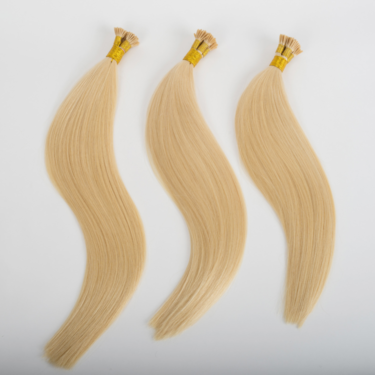 Human easy pre bonded real hair extensions store SJ00132