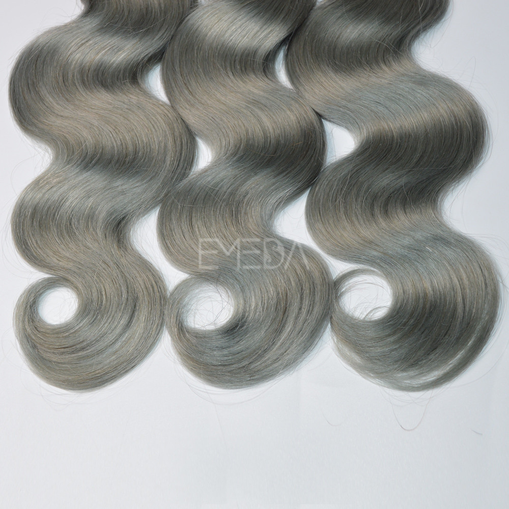 Gift body wave hair extensions real hair sale WK157