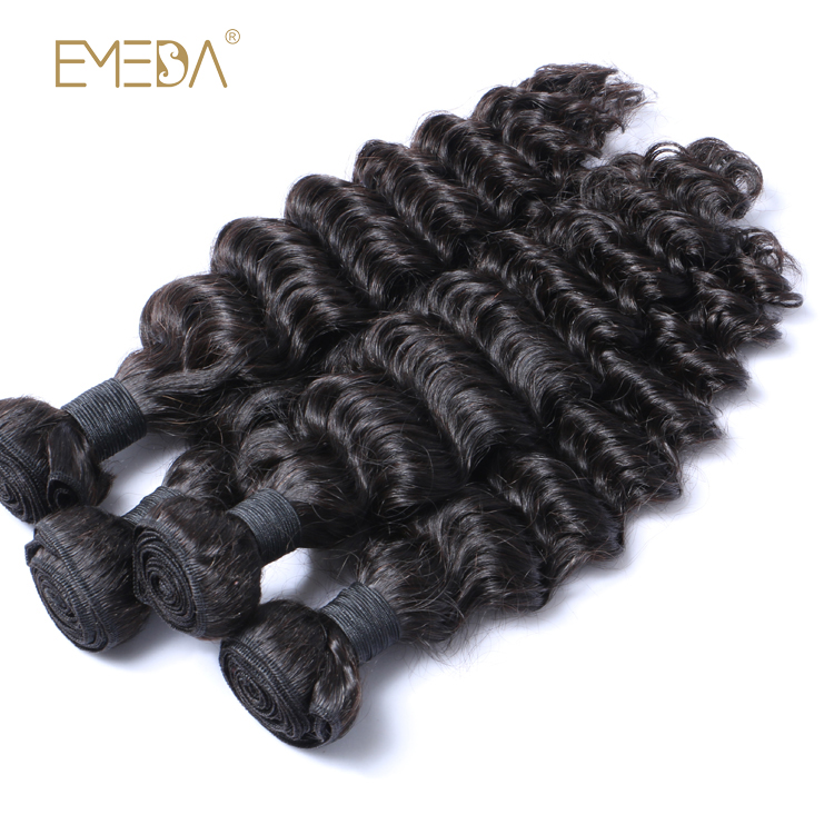 Brazilian Human Hair Extensions Large Stock Virgin Cuticle Aligned Hair Weave LM355