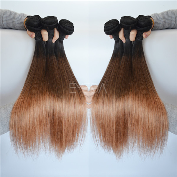 Grade 7A 3 color hair extensions atlanta YJ173