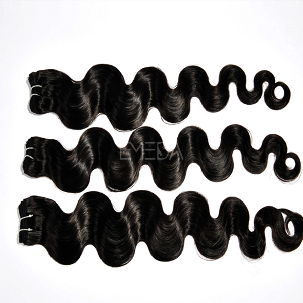 body wave hair extensions black WJ11