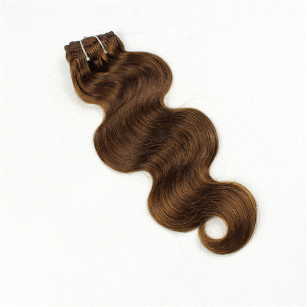 Brown hair weave colored hair wholesale bundles Brazilian hair YL127