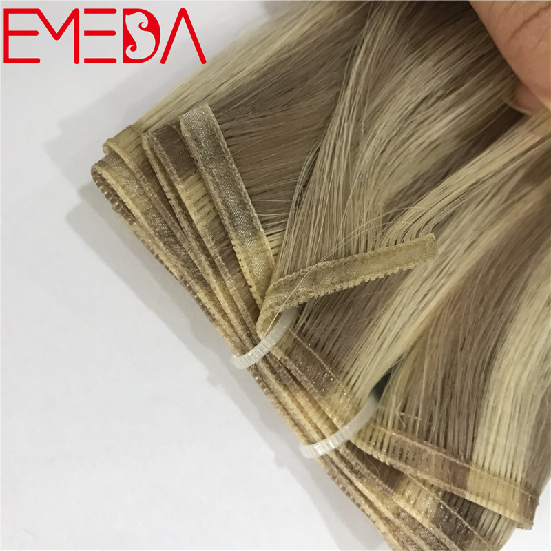 2019 hair extensions new trend seamless band machine weft new hair product YJ304