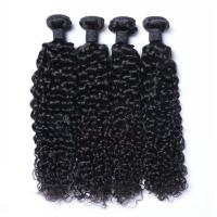 EMEDA Indian Hair Extensions with Great Lengths Kinky Curly Human Hair Weave HW019