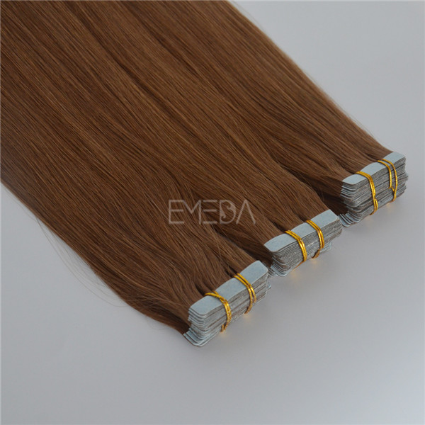 EMEDA Silk straight Tape in hair extensions Smooth hair factory-HW0079