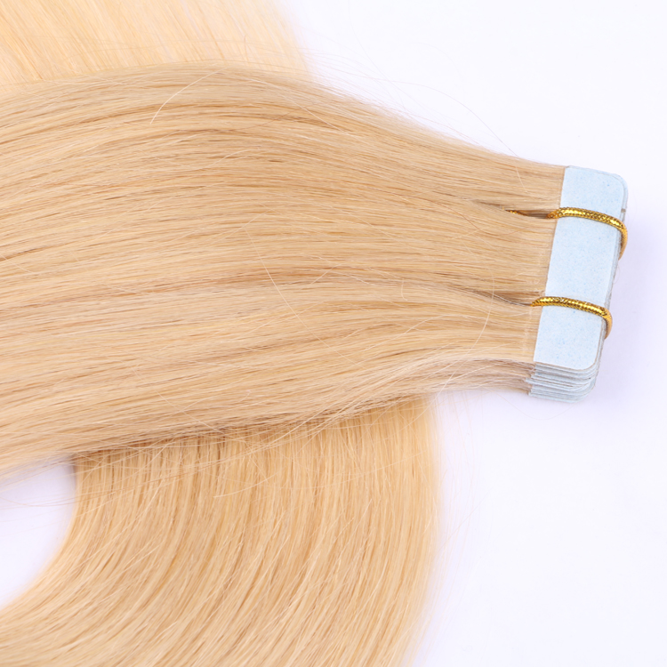 Tape in weave hair weft extensions SJ00105