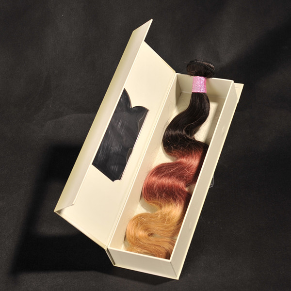 OEM custom hair packaging  LJ41