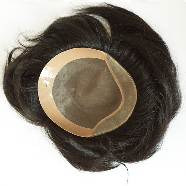 Qingdao human hair toupee for women lp131