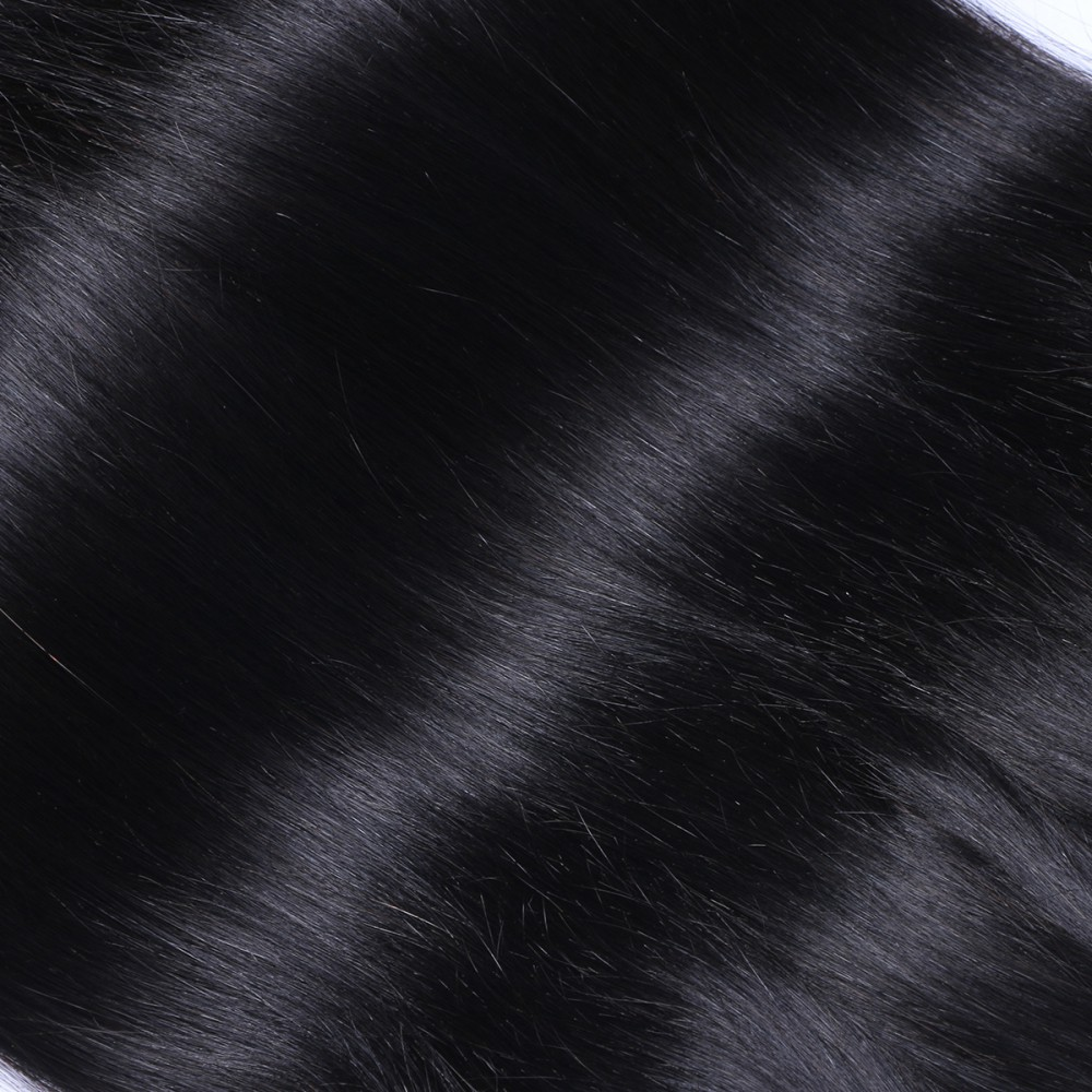 Virgin Peruvian hair weave weave  with cuticle hair JF089