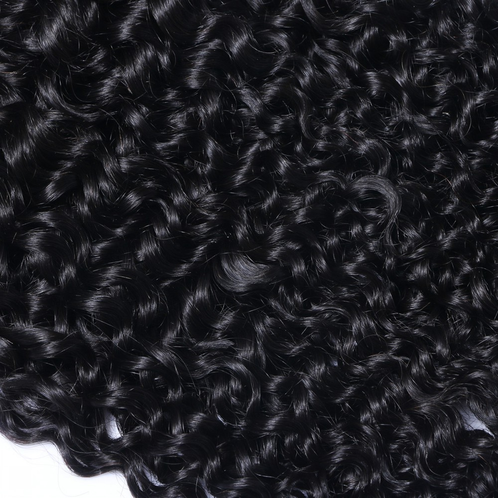 Curly hair weave Remy hair extensions weave HN108