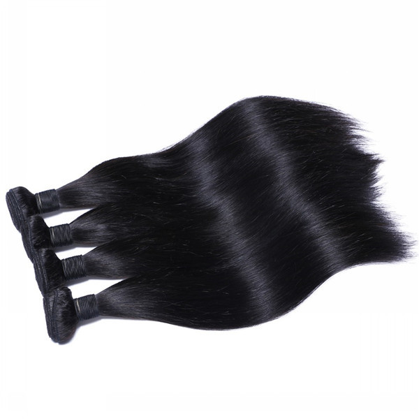 Could design package wholesale straight Brazilian hair extension   LM013