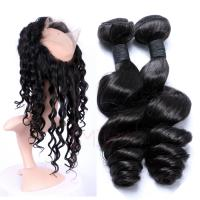 EMEDA Virgin  Malaysian Hair loose wave Natural human Hair Weave Bundles HW037
