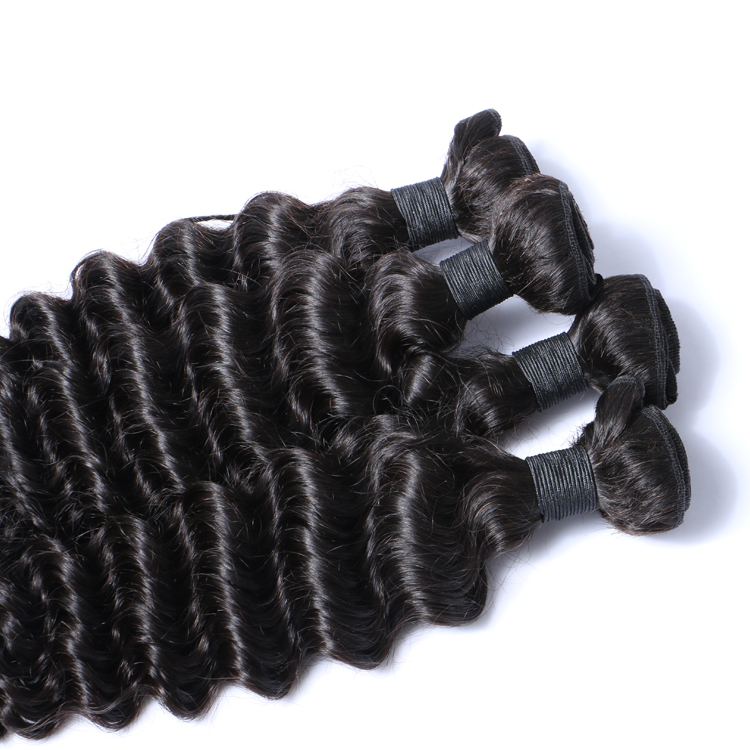 Unprocessed Indian Raw Human Hair Weave Remy Virgin Hair Extensions 9A Grade LM224