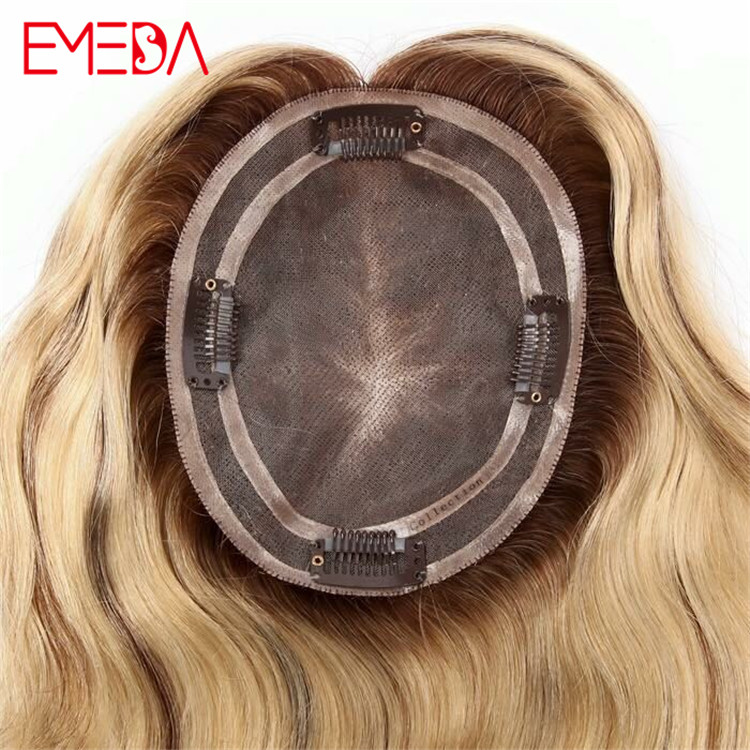 Customized hair toppers for womens different women hair pieces toupees closure WK197