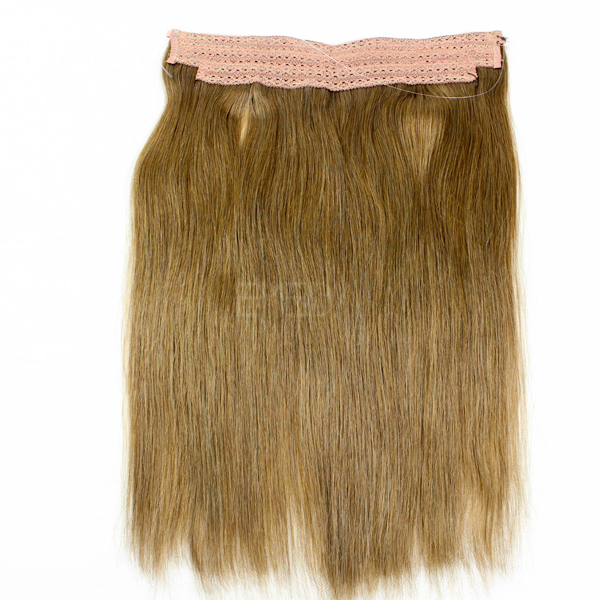 Flip In 100 Human Hair No Shedding Halo Extension CX042