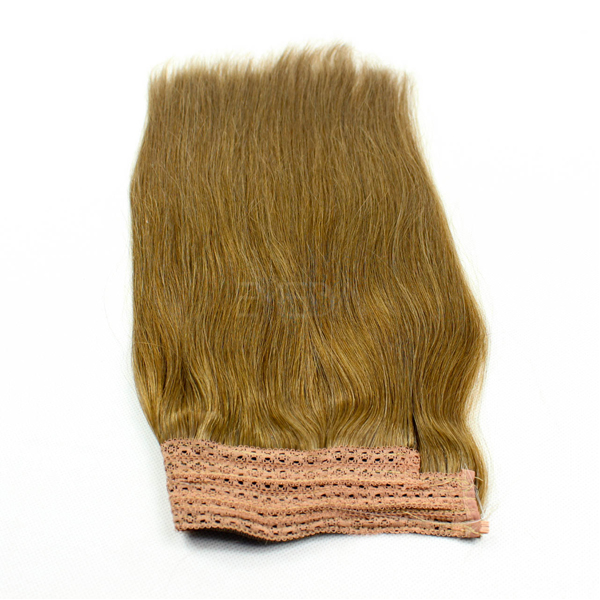 Flip in 100% human hair no shedding halo extension hair CX042