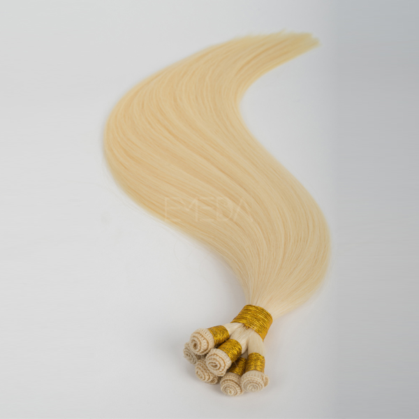 Factory price fast delivery hand tied 8A indian hair extension CX050