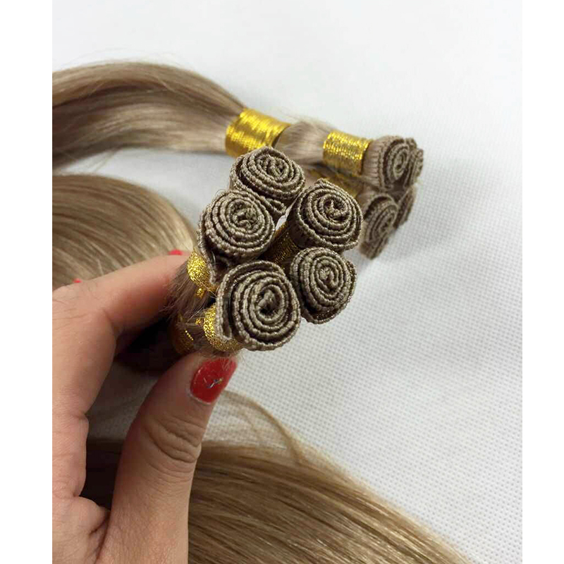 Full hand tied weft  human hair extensions good quality with competitive price YL432