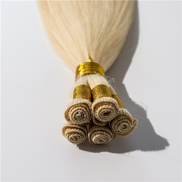 Wholesale Virgin Hand Tied Weft Human Seamless Hair Manufactures Extensions China Factory LM353