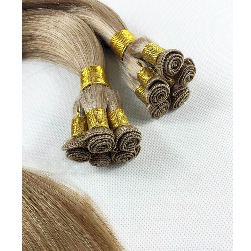 ombre color hand tied extensions piano colors remy hair quality YL411