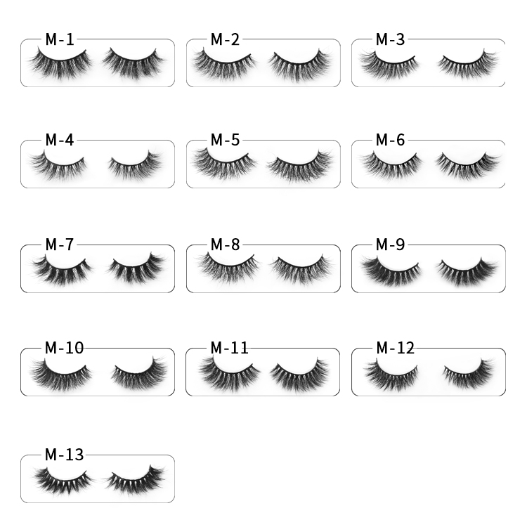Custom Lashes Packaging Mink Lashes Private Label Manufacturer PY1